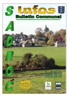 Bulletin communal d'Avril 2019